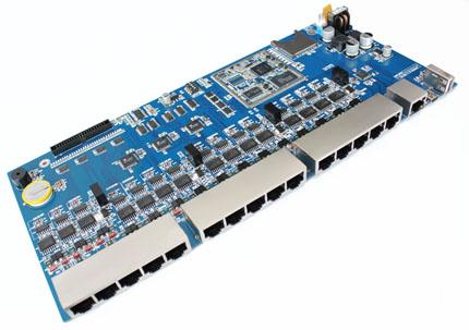 及防静电防护  通讯指示:支持15路rs485数据收发通讯led指示  串口